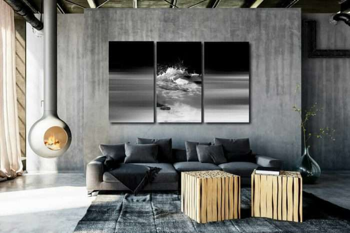 minimalist living room paintings